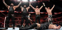 Buddy Murphy joins The Monday Night Messiah & AOP in their brutal Fist Fight against Big Show, Kevin Owens and Samoa Joe. Seth Rollins, Seth Freakin Rollins, Paul Heyman, Kevin Owens, Wwe Champions, Royal Rumble, Big Show, Wwe News, Wwe Photos