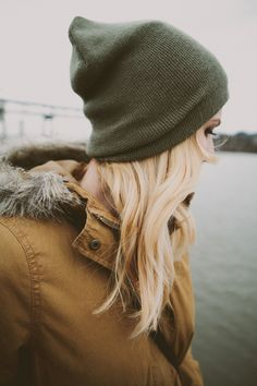 hooded + olive hat http://rstyle.me/n/rxg8w4ni6