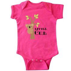3cf650712 Inktastic Koala Bear Little Cub Infant Bodysuit Animals Cute New Baby Kids  Boys