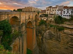 The best towns in southern Spain. Ronda, Vejer de la Frontera, Úbeda, Priego de Córdoba and Setenil de las Bodegas are just some of the wonders you'll find down South. Hidden Places, Great Places, Places To See, Beautiful Places, Ronda Spain, Destinations, Cities In Europe, Spain And Portugal, Day Trip