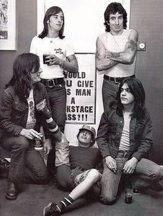 AC/DC with Bon Scott - 1978