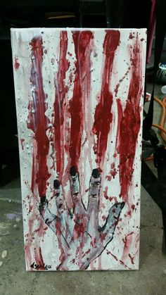 Art, Zombie, Painting, Abstract, Acrylics, Artwork, Hand Painted, Original #Surrealism