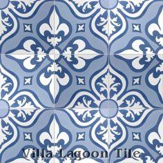 """""""Lancelot"""" Cement Tile"""
