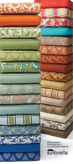 Design Nashville is an authorized dealer of Sunbrella Fabrics, the most comprehensive designer fabrics for outdoors.