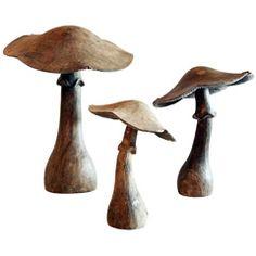 nice carved mushrooms