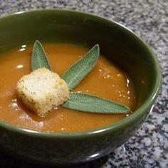 Butternut Squash Soup II - Allrecipes.com