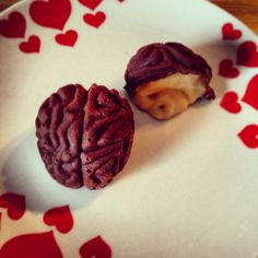 Chocolate Brains Recipe. #zombie
