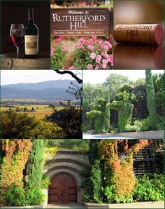 Rutherford Hill Winery, Rutherford, CA