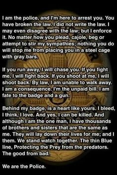 i LOVE LOVE LOVE this quote. It is an absolutely PERFECT quote for a police officer. End of Watch