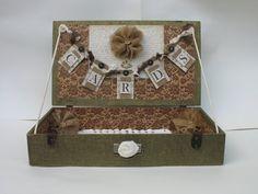 Wedding Card Box  Shabby Chic Rustic by TheShabbyChicWedding