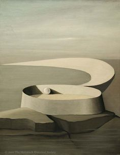 Kay Sage - 1939 - No One Heard Thunder www.transitionresearchfoundation.com