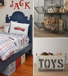 Storage - Toddler's Room - Interior Design