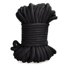 High Quality Black 32-foot 10m Long Japanese Soft Cotton Rope (Black) 2pcs. A brand-new, unused, and unworn item. Exciting,Great fun, Rich Sexual Life. Soft and friendly material make the adult game more fun. Ideal for those who simply want to tie their partners hands and feet, it's long enough and durable enough for those who want to engage in rope bondage. The super long length gives you lots of freedom to do what you will, you can bind up the wrists or ankles before attaching the rope…