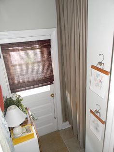 Use A Twin Sheet As Curtain To Hide Water Heater Sheets