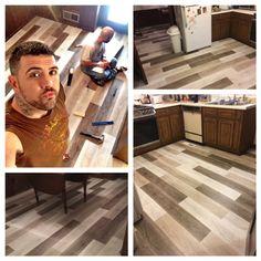 Install it yourself! Mohawk's new SolidTech flooring #LoveYourFloor