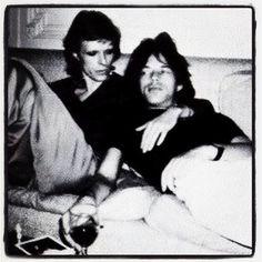 David Bowie e  mick jagger