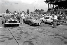 Das erste Opel-Markenrennen 1969 am Nürburgring ©Hallo Fahrerlager / Archiv Rainer Braun #Opel #1969 #Nürburgring #Markenrennen #RainerBraun #classiccar #classiccars #oldtimer #auto #car #cars #vintage #retro