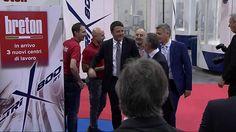 Opening of Piaggio Aerospace: stand Breton with Matteo #Renzi, italian premier