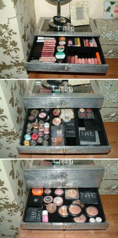 I'm guessing I now need a three drawer situation like this!