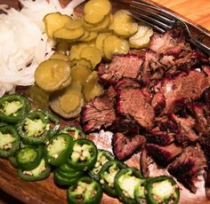 Texas smoked beef chuck