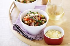 Ready and on the table in 30 minutes, this tasty meal is a midweek winner!