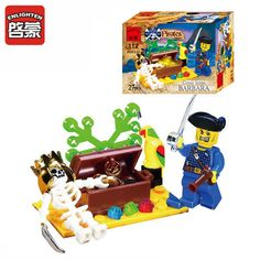 Pirate Series Skull Island Adventure Building Blocks Sets DIY Minifigures Kids Toys Children's Gift 27PCS #clothing,#shoes,#jewelry,#women,#men,#hats,#watches,#belts,#fashion,#style