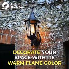 LED Flame Effect Light Bulb ? a unique piece of Decorative Light Bulb. Fireplace Lighting, Light Bulb Bases, Luz Led, Light Effect, Cool Gadgets, Light Decorations, Light Up, Light Fixtures, Fall Decor