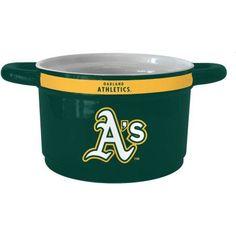 MLB Oakland Athletics Ceramic Game Time Bowl, Multicolor