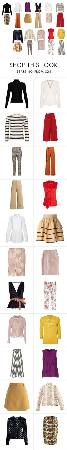 """20 piece"" by marchied on Polyvore featuring Acne Studios, Elizabeth and James, Theory, TIBI, Isabel Marant, WithChic, Sea, New York, ATM by Anthony Thomas Melillo, FAUSTO PUGLISI and Dorothy Perkins"
