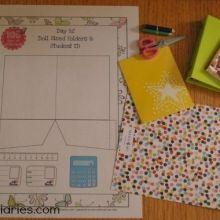 Printable Folders & School Supplies for Dolls ishareprintables.com #freeprintables #learning