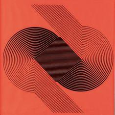 Franco Grignani, Silk-Screen Print, 1970 [from Aste Boetto] Graphic Design Pattern, Graphic Design Inspiration, Style Inspiration, Mondrian, Le Manoosh, Illusion Art, Photo Logo, Silk Screen Printing, France