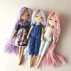 :: Crafty :: Cloth Doll :: 3 :: Sparkle Starling 02