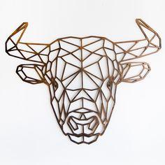 Statement in jouw huis! De geometrische dieren van Fabryk Design zijn in allerlei toffe kleuren verkrijgbaar. Maak kennis met onze bestseller, the bull!