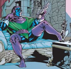 Kang the Conqueror (Nathaniel Richards) (Earth-6311) | art by Carlos Pacheco