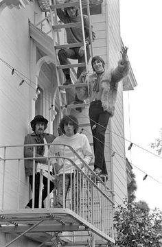Pink Floyd, Casa Madrona Hotel, 1967, Sausalito, CA
