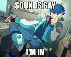 Every fujoshi XD Fb Memes, Memes Humor, Stupid Funny Memes, Haha Funny, Reaction Pictures, Funny Pictures, Desu Desu, Dramatical Murder, Anime Expressions