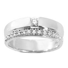 Diamantring i guld Girls Best Friend, Wedding Accessories, Wedding Bands, Jewerly, Engagement Rings, Metal, Nice Things, Diamonds, Wedding Ideas