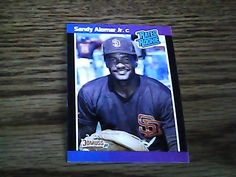 RATED ROOKIE SANDY ALOMAR JR.