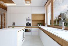 Kuchnia bez uchwytów - nowoczesne sposoby otwierania mebli kuchennych