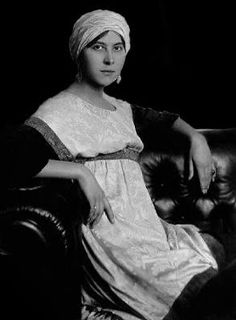 """Denise Poiret, muse and wife of Paul Poiret. Paul Poiret was the self-proclaimed """"King of Fashion"""" and arguably one of the most influential designers of the century. Paul Poiret, Jeanne Lanvin, Behind Every Great Man, Evolution Of Fashion, French Fashion Designers, Musa, Madame, Fashion History, People"""