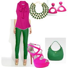 Mixing Pink And Green Alpha Ka Style