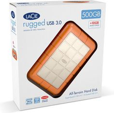 LaCie 1TB Rugged Hard Drive package - Google Search
