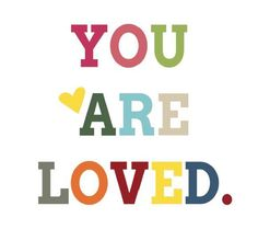 You are Loved Free Printable & Gift Idea! -- Tatertots and Jello