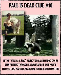 Paul is dead -- clue #10