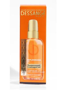 Damaged or over processed hair? Try the Dessange Paris Oleo Miracle Replenishing Oil to bring your strands back to life for prom night!