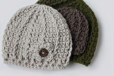 Swirl Hat Crochet Pattern (Multiple Sizes) - Rescued Paw Designs