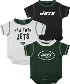 New York Jets Newborn 3-Piece Creeper Set $21.99  http://www.beyondgraduation.com/New-York-Jets-Newborn-3-Piece-Creeper-Set-_-1487302734_PD.html