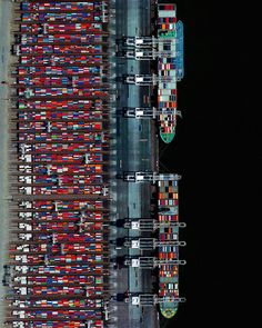 blazepress: Aerial View of Port of Rotterdam, Netherlands. blazepress: Aerial View of Port of Rotterdam, Netherlands.