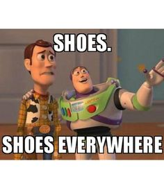 My boyfriend and me when we go to the mall! I'm Buzz, obviously lol