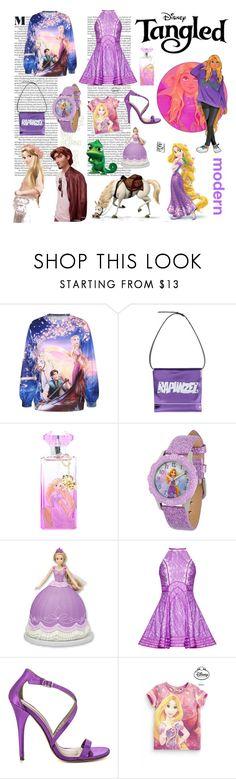 """Rapunzel"" by marymarales ❤ liked on Polyvore featuring Cyrus, Leo, Merida, Disney and Michael Antonio"